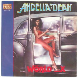 "Angella Dean Vinile 7"" 45 giri World X - CLS ‎– MD F 016 Nuovo"