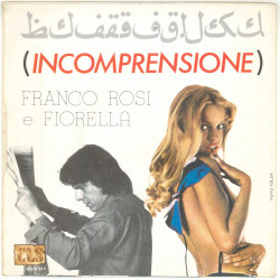 """Franco Rosi E Fiorella Vinile 7"""" 45 giri Incomprensione - MD F 011 Nuovo"""