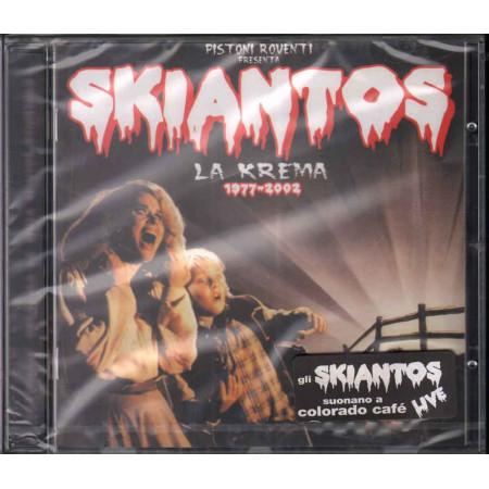 Skiantos CD Pistoni Roventi Presenta Skiantos La Krema 1977 2002 Sigillato