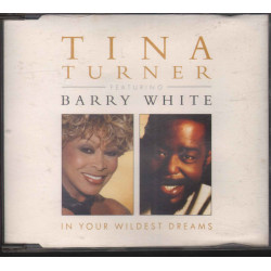 Tina Turner Featuring Barry White ‎Cd'S Singolo In Your Wildest Dreams EMI Nuovo