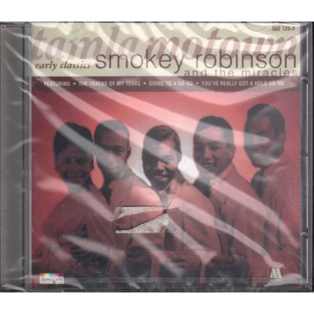 Smokey Robinson And The Miracles  CD Early Classics Sigillato 0731455212525