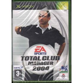 Total Club Manager 2004 Videogioco Xbox Sigillato 5030930036263