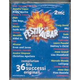 AA.VV 2x MC7 38° Festivalbar 2001 - Compilation Blu / Sigillata 0685738873845