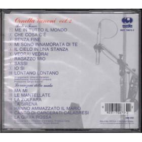 Ornella Vanoni CD Vol 2 Paoli e Tenco  Le Canzoni Della Mala  Sig 0090317067322