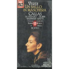 Verdi, Callas, Di Stefano 2x MC7 Un Ballo In Maschera Sigillata 5099929092550