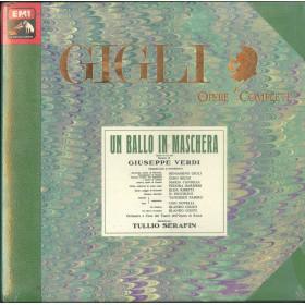Giuseppe Verdi 3x MC7 Un Ballo In Maschera / EMI 1183925 M Sigillata