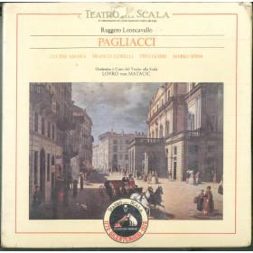 Ruggiero Leoncavallo 3x MC7 Pagliacci / 295-00525/26 Sigillata