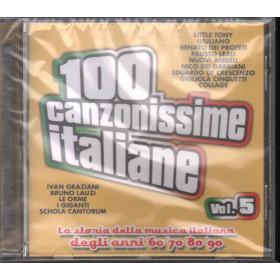 AA.VV. CD 100 canzoni italiane Vol 5 / Saifam Sigillato 8032484033252