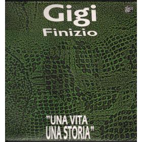 Gigi Finizio Lp Vinile Una Vita Una Storia / Visco Disc LP 70142 Nuovo