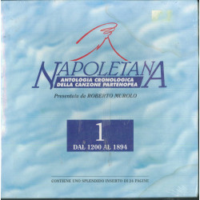 Roberto Murolo 4x MC7 Napoletana - Antologia 1 Dal 1200 Al 1894 / Sigillata