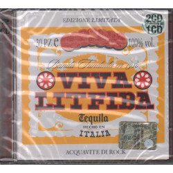 Litfiba 2 CD Viva Litfiba / CGD East West ‎– 0630-19451-2 Sigillato