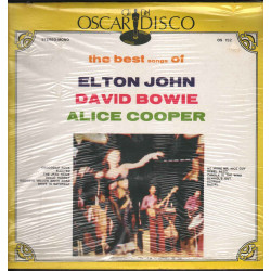 E John / D Bowie / A Cooper Lp Vinile The Best Songs Of - Cover Oscar Sigillato