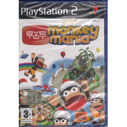 Eye Toy (EyeToy) Monkey Mania Videogioco Playstation 2 PS2 Sigillato