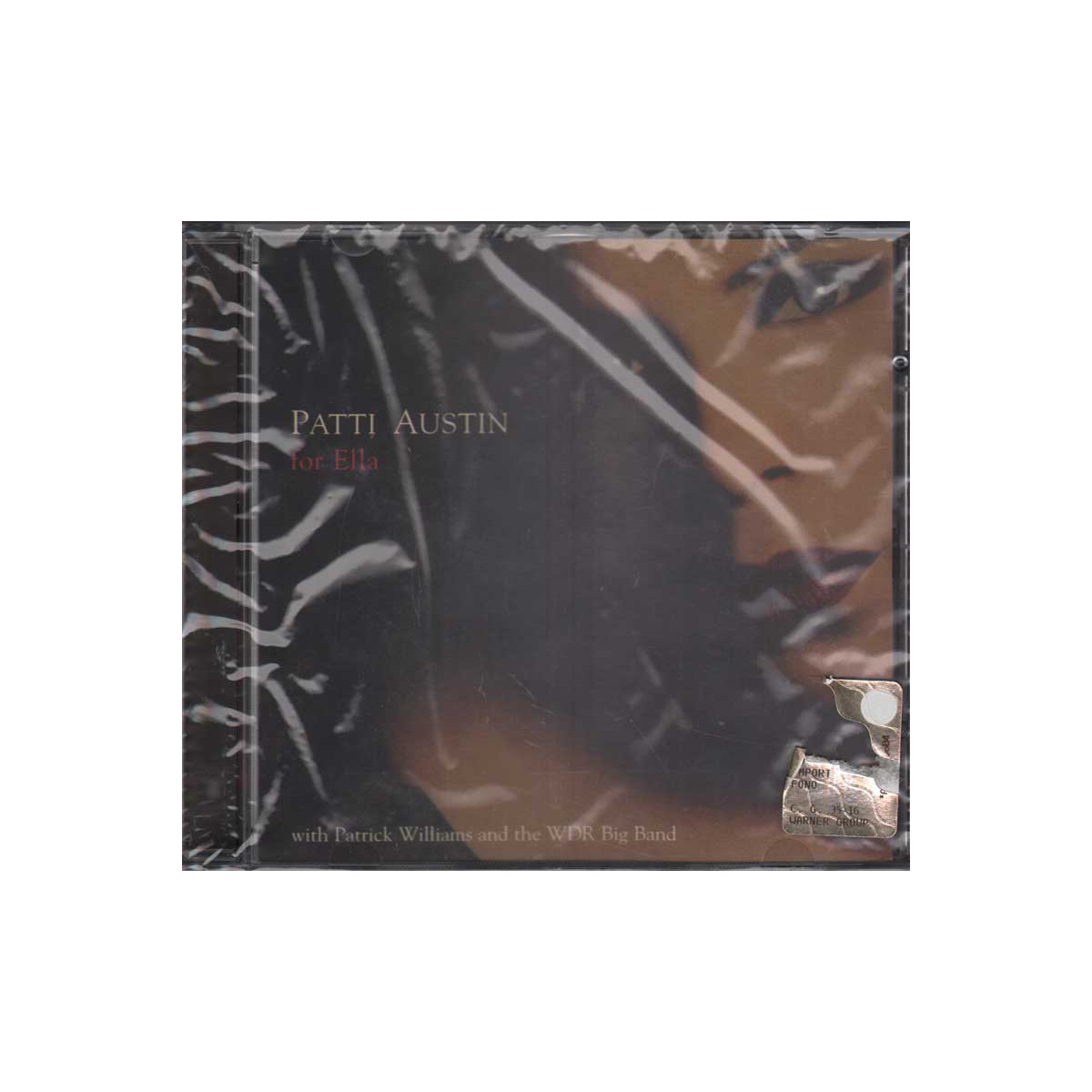 Patti Austin CD For Ella Nuovo Sigillato 0013431750321