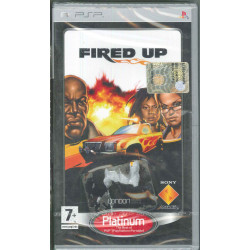 Fired Up Platinum Videogioco PSP Sony Sigillato 0711719196945