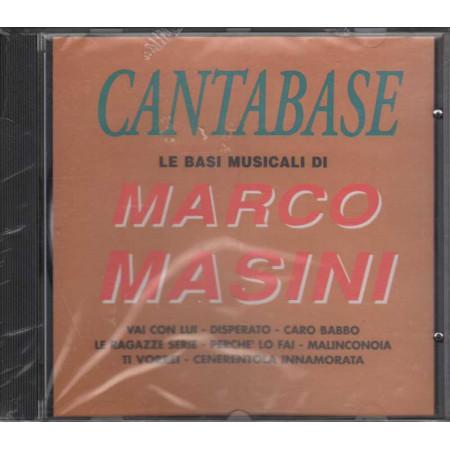 Cantabase CD Le basi musicali di Marco Masini Nuovo Sigillato