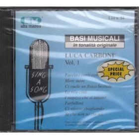Basi musicali CD Luca Carboni vol.1 Nuovo Sigillato 0042217086927