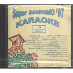 Basi musicali - Karaoke CD Super Sanremo '97 Nuovo Sigillato 0731453471528