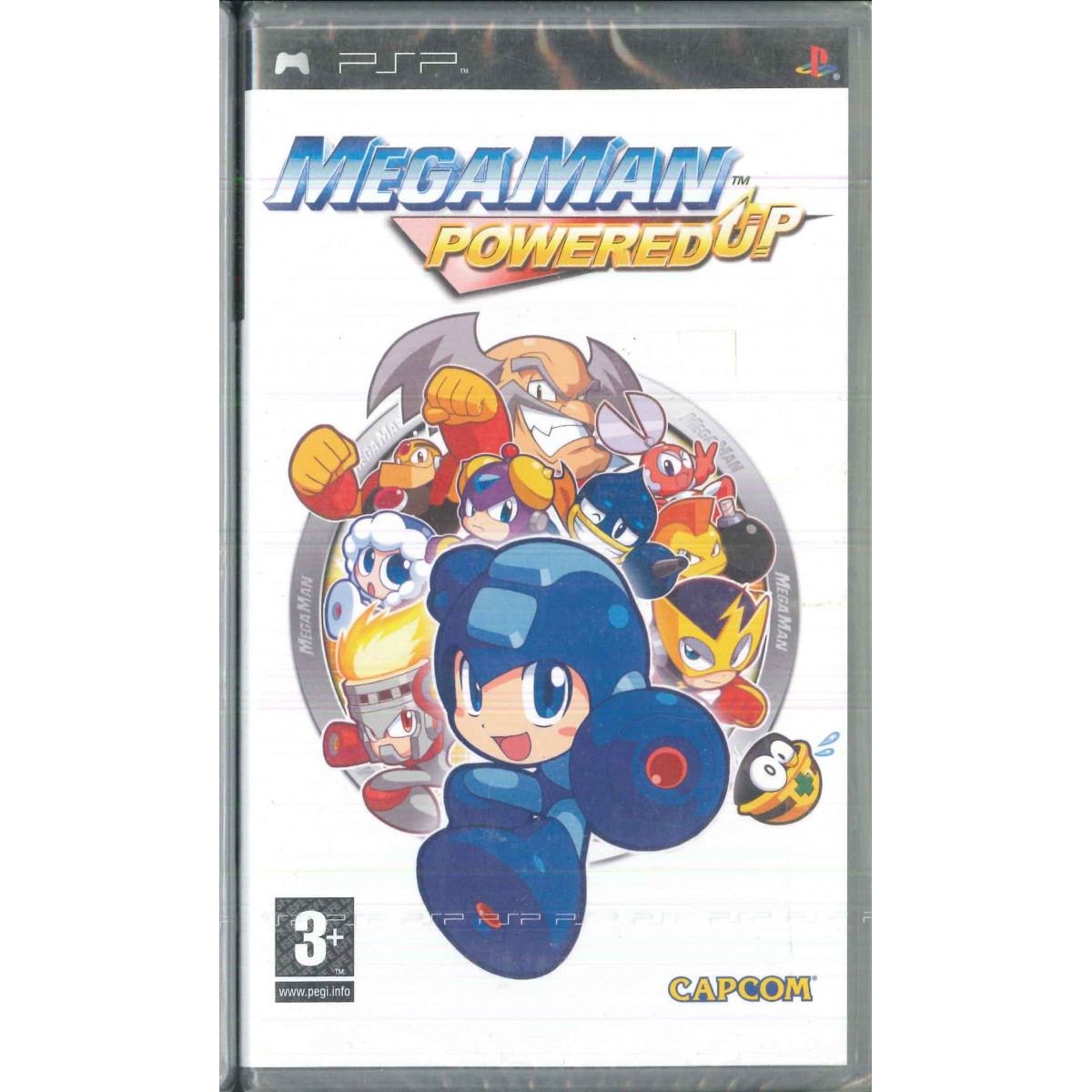 Megaman Powered Up Videogioco PSP Capcom Sigillato 5055060910320