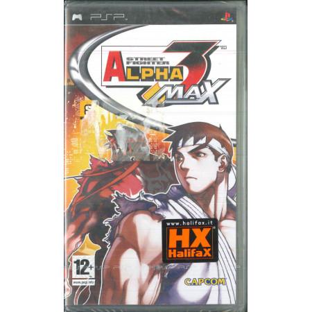 Street Fighter Alpha 3 Max Videogioco PSP Capcom Sigillato 5055060910429