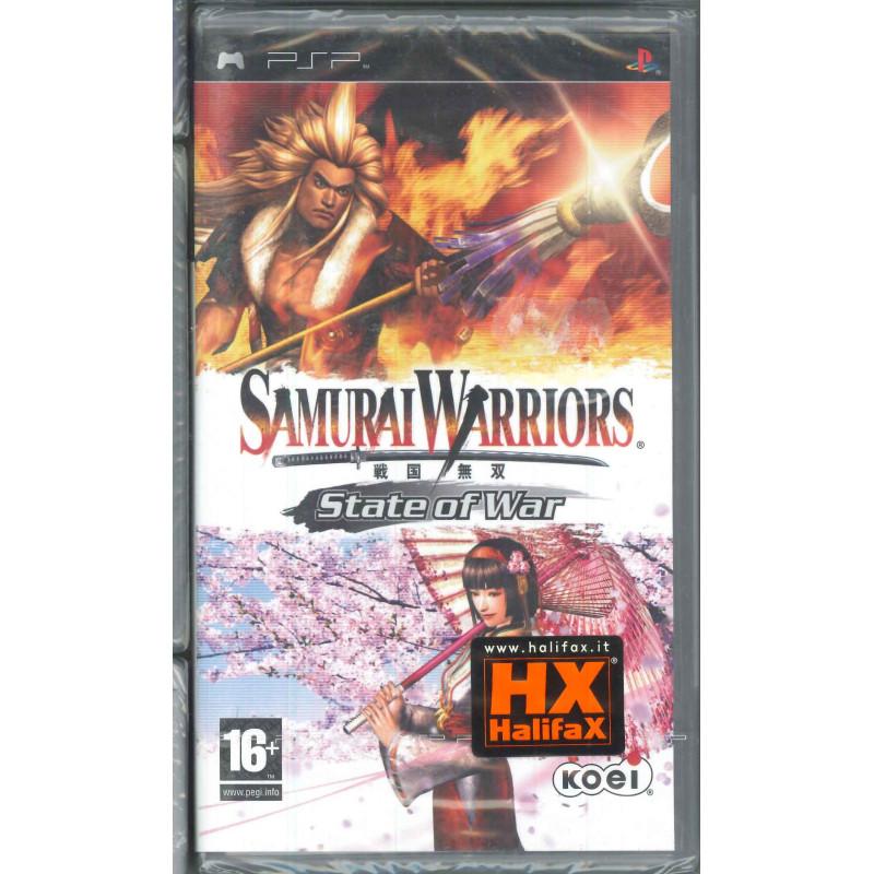 Samurai Warriors Videogioco PSP Halifax Sigillato 5060073302079