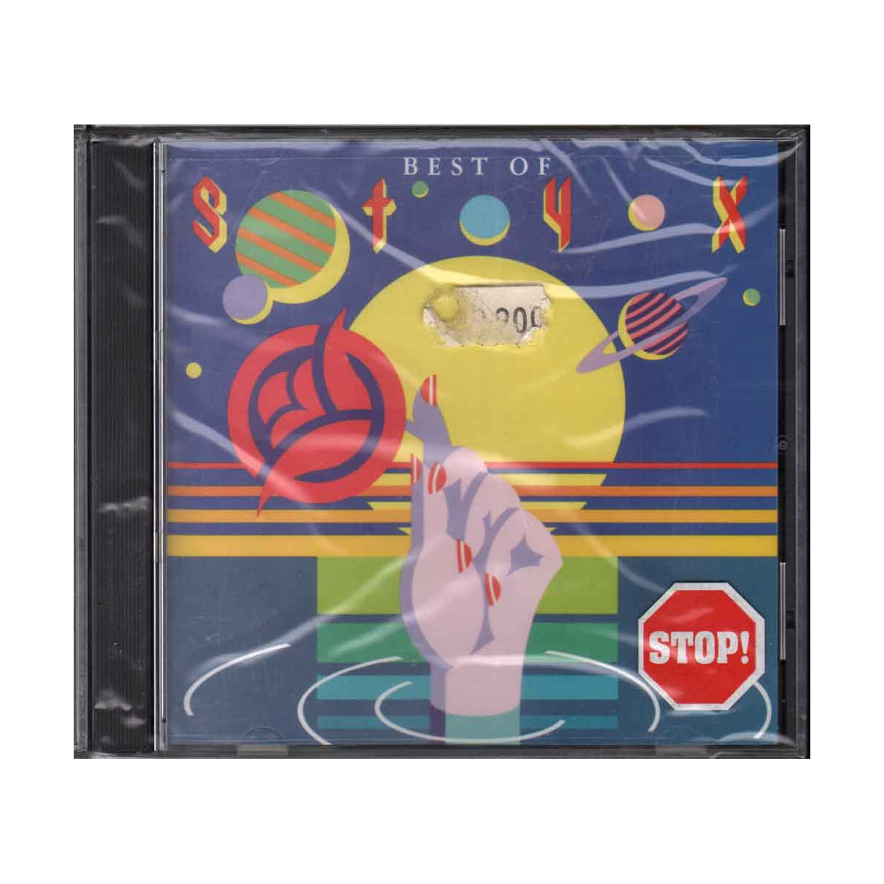 Styx  CD The Best Of Styx - ND89913   Nuovo Sigillato 0035628991324
