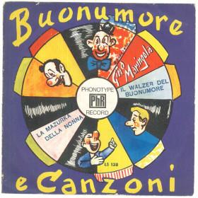 """Gino Maringola Vinile 7"""" 45 giri Il Walzer Del Buonumore / La Mazurka Della Nonna Nuovo"""