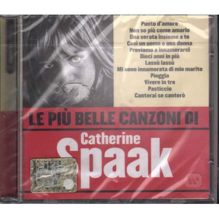Catherine Spaak CD Le Piu' Belle Canzoni Di / Warner Sigillato 5051011231827