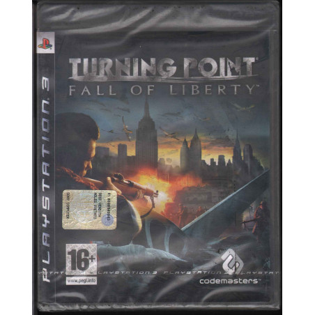 Turning Point Fall Of Liberty Videogioco Playstation 3 PS3 Sigillato