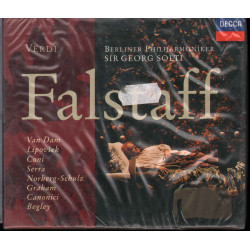 Verdi Berliner Philharmoniker Sir Georg Solti CD Falstaff / Decca Sigillato