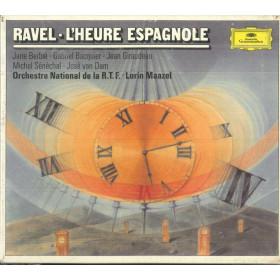 Ravel / J Berbie / G Bacquier CD L'Heure Espagnole / Deutsche Sigillato