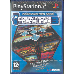 Midway Arcade Treasures 3 Videogioco Playstation 2 PS2 Leader Sigillato