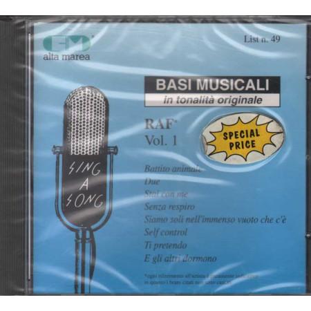 Basi Musicali CD Raf Vol. 1 / Polygram Serie Alta Marea Sigillato