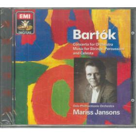 Bartók / Mariss Jansons CD Concerto For Orchestra / EMI Sigillato 0077775407020