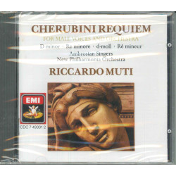 Cherubini / Muti CD Requiem For Male Voices / EMI ‎CDC 7 49301 2 Sigillato