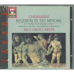Cherubini / Muti Ambrosian CD Requiem In Do Minore / EMI ‎CDC 7496782 Sigillato