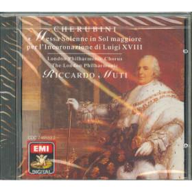 Cherubini / Muti CD Messa Solenne In Sol Maggiore / EMI CDC 7495532 Sigillato