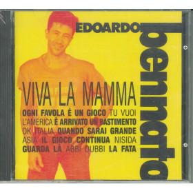 Edoardo Bennato CD Viva La Mamma / Fonit Cetra Virgin 8 39285 2 Sigillato