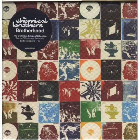 The Chemical Brothers Box 2 CD Brotherhood Limited Ed. Sigillato 5099923532922