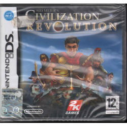 Civilization Revolution Videogioco Nintendo DS NDS Take Two Sigillato