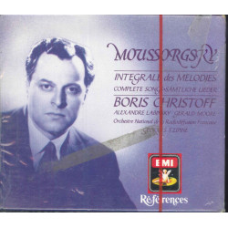 Moussorgsky / B Christoff 3 CD Complete Songs / EMI CHS 7 63025 2 Sigillato