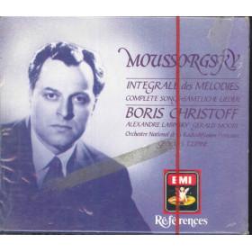 Moussorgsky / B Christoff 3 CD Complete Songs / EMI CHS 7 63025 2 Sigillato