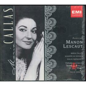 Puccini / M Callas / G di Stefano CD Manon Lescaut / EMI 5 56301 2 Sigillato
