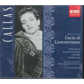 Donizetti / M Callas / Di Stefano CD Lucia Di Lammermoor / EMI 5664382 Sigillato