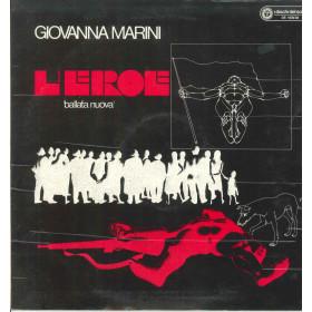 Giovanna Marini Lp Vinile L'Eroe / I Dischi Del Sole DS 1036/38 Nuovo