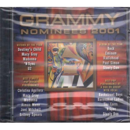 AA.VV. CD Grammy Nominees 2001 Nuovo Sigillato 0724353152024