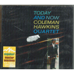 Coleman Hawkins Quartet ‎CD Today And Now / Impulse IMP 11842 Sigillato