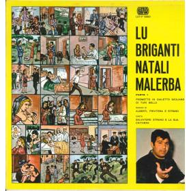 Salvatore Strano Lp Vinile Lu Briganti Natali Malerba / Star LST/F 5000 Nuovo