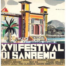 AA.VV. Lp Vinile XVII Festival Di Sanremo / Rifi RFL LP 14022 Nuovo