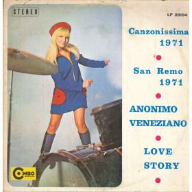 I Combos Lp Vinile Canzonissima 1971 - San Remo 1971 / Combo LP 20104 Nuovo
